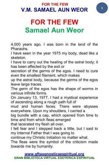 dream yoga pdf samael aun weor free