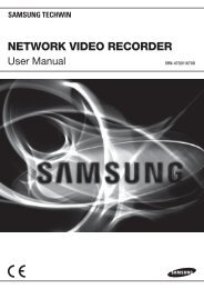 Manual Samsung SRN-1670D 16 Channel Network Video Recorder