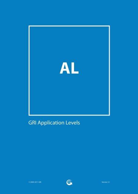GRI Application Levels - Global Reporting Initiative