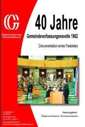 40 Jahre - Österreichischer Gemeindebund