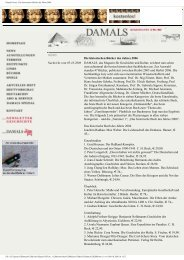 Die historischen Bücher des Jahres 2006 - Gerd Koenen
