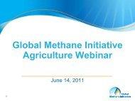 introductory presentation - Global Methane Initiative