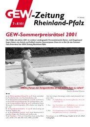 -Zeitung - GEW