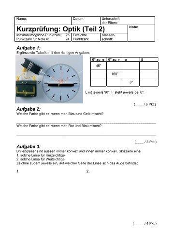 Prüfung 2011 (zweiter Teil) - Gegenschatz.net