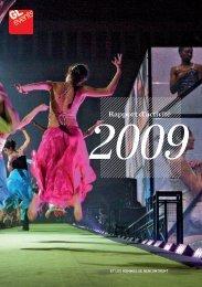 Rapport d'activité 2009 - GL events