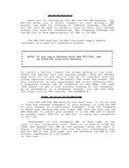 MFJ-269 Instruction Manua