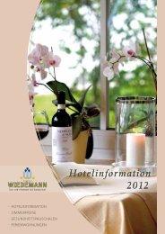Hotelinformation 2012 Hotelinformation 2012 - Gesundheitsreise.de