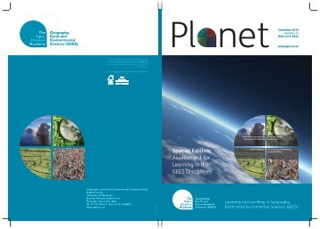 Cover of Planet Issue 23 (PDF file 0.5mb) - GEES Subject Centre ...