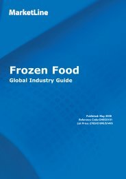 Frozen Foods: Global Industry Guide - Business Insights