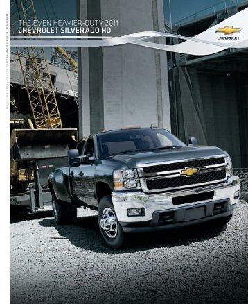 THE EVEN HEAVIER-DUTY 2011 Chevrolet ... - GM Canada