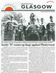 Scotty 'D' comes up huge against Plentywood - Glasgow Montana
