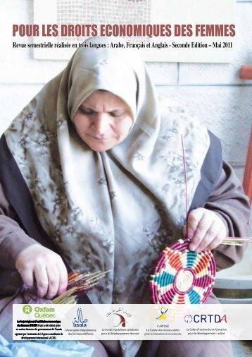 pour les droits economiques des femmes - Cawtar clearing house ...