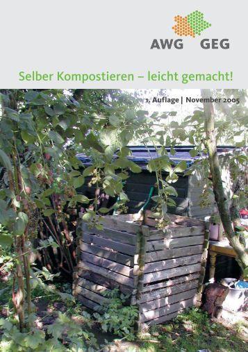 Selber Kompostieren - AWG Abfallwirtschaftsgesellschaft des ...
