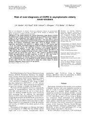 78% - European Respiratory Journal