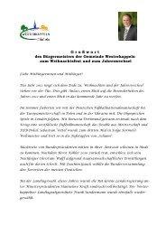 Kopfbogen Bürgermeister - Gemeinde Westerkappeln