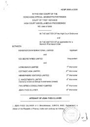 ollivier affidavit.15may07 Pdf - Global Witness