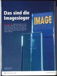 Wie das Image-Ranking entsteht - Gefahr/gut