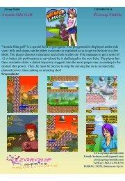 Arcade Side Golf ZGroup Mobile - Get Mobile game