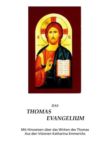 THOMAS EVANGELIUM - geistiges licht