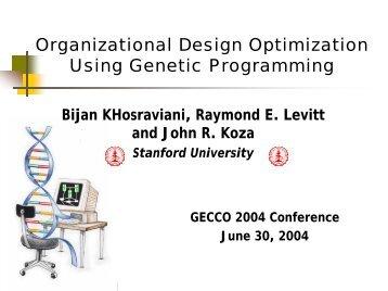 Additional slides - Genetic-Programming.org