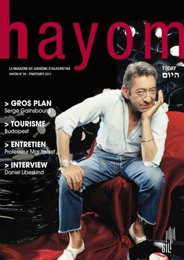 Hayom_39 - Communauté Israélite Libérale de Genève