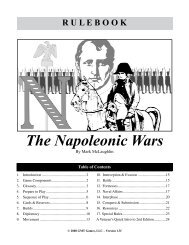 The Napoleonic Wars - GMT Games