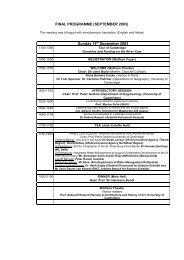 Meeting Programme - University of Cambridge Department of ...
