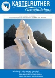 Kastelruther Gemeindebote - Ausgabe Februar 2008 (2.5 Mb) (0 ...