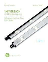 LED Immersion? RDL RV40 Data sheet - GE Lighting