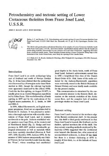 Bulletin of the Geological Society of Denmark, Vol. 37/1-2 pp. 31-49