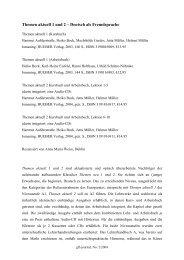 Themen aktuell 1 und 2 – Deutsch als Fremdsprache - GFL-Journal