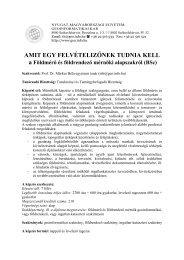 AMIT EGY FELVÉTELIZŐNEK TUDNIA KELL - GEO-s