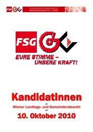 GRW10_SPÖ-KandidatInnen - Mitglieder der GdG-KMSfB - FSG