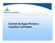 Control de Agua Pluvial y Líquidos Lixiviados - Global Methane ...