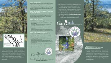 PDF 2MB - Garry Oak Ecosystems Recovery Team