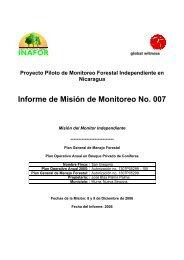 Informe de Misión de Monitoreo No. 007 - Global Witness