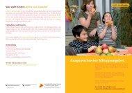 Mittagstisch und Schulen - Gesundheit.bs.ch - Kanton Basel-Stadt