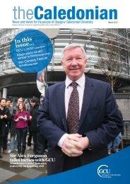 Inthis issue... - Glasgow Caledonian University