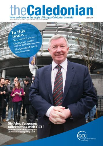 Inthis issue... - Glasgow Caledonian University