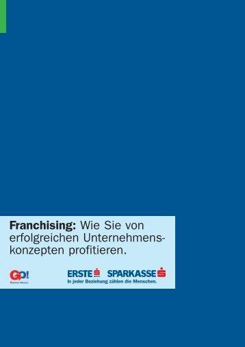 Franchising - GO! Gründercenter