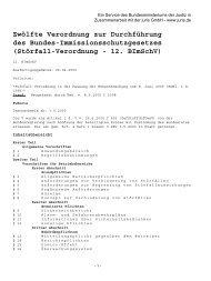 (12. BImSchV ) (pdf, 68.4 KB) - Gewerbeaufsicht Bremen