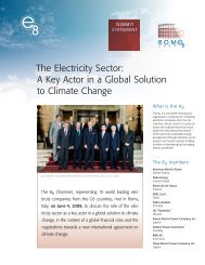 June 2009 PDF - 4 pages - Global Sustainable Electricity Partnership