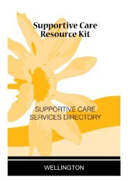 Wellington Supportive Care Services Directory - GHA Central