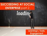 Succeeding at Social Enterprise - Philanthropy New Zealand