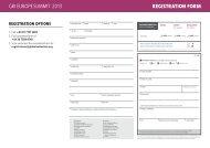 REGISTRATION FORM GRI euRope summIt 2013 - Global Real ...