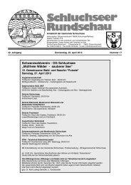 Rundschau Nr. 17.pdf - Gemeinde Schluchsee