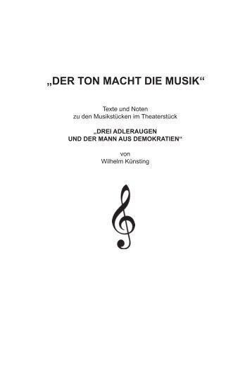 Download des Musikteils (PDF) - Gesicht Zeigen!