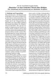 """""""Bausteine"""" zu einer kritischen Theorie über Religion"""