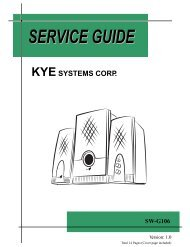 KYE SYSTEMS coRR - Genius