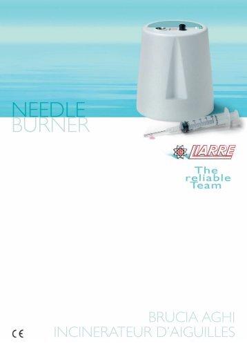 NEEDLE BURNER